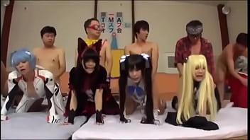 Festa da orgia cosplay