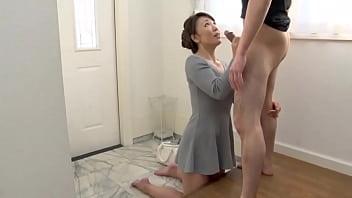 Boquete da milf japonesa